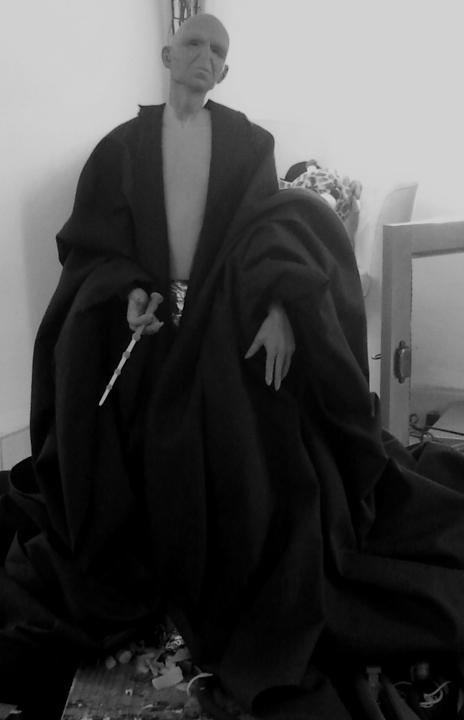 Sculpture de Diablo : Voldemort HP7 part2 1/4 scale Wip11