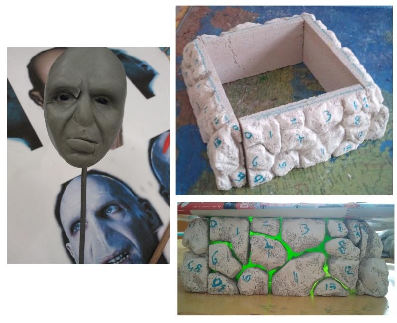Sculpture de Diablo : Voldemort HP7 part2 1/4 scale Wip510