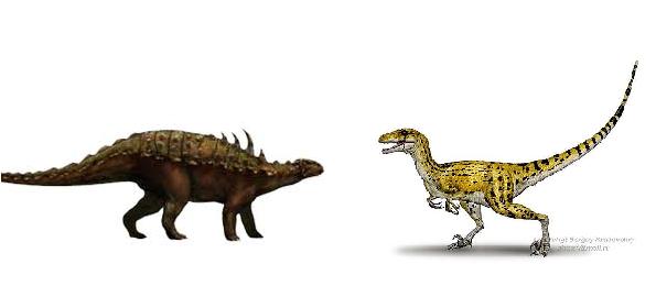 Albertosaurus vs Gastonia Utha10