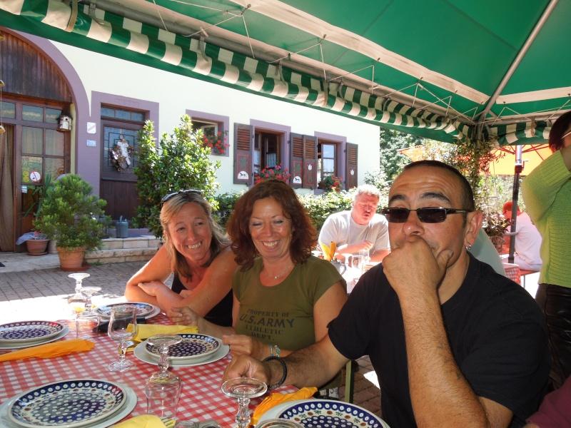 PHOTOS balade ALSACE 11/08/2012 Repas410