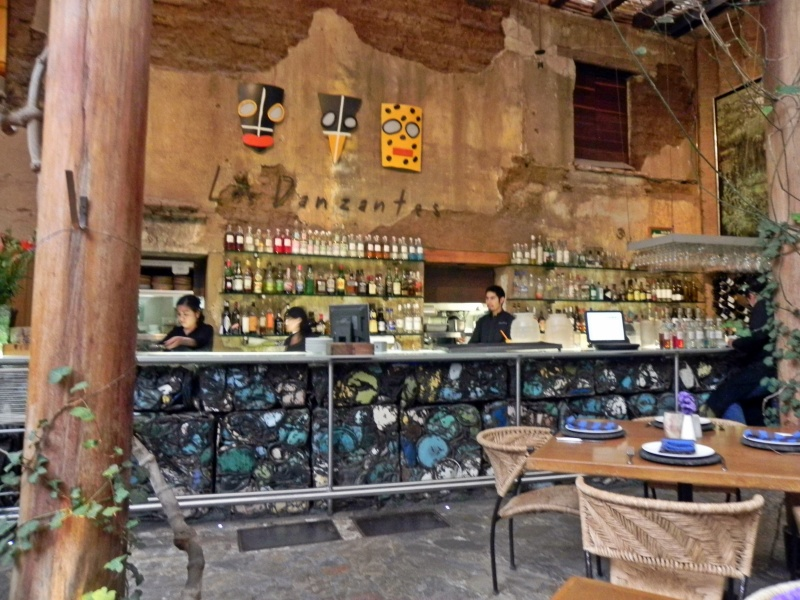 Las Danzantes Restaurant - Oaxaca, Mexico Dscn3910