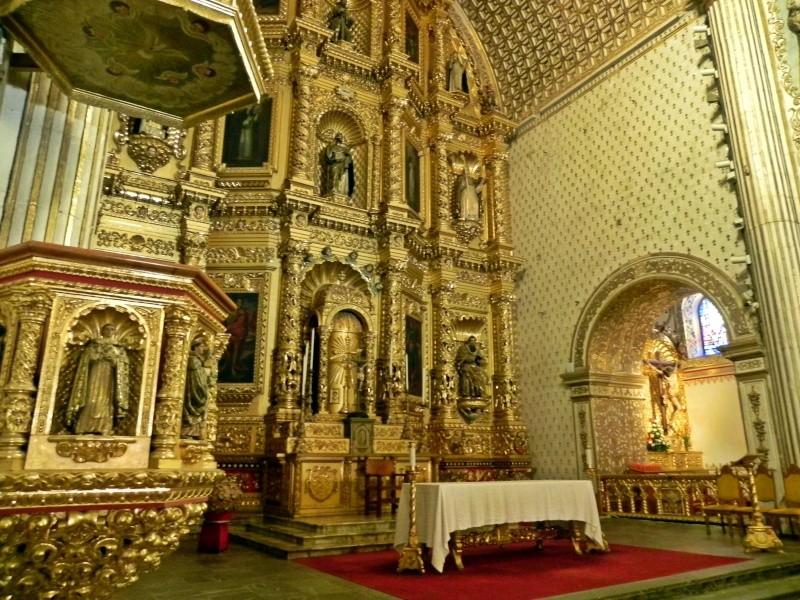 Church of Santo Domingo de Guzman - Oaxaca Dscn3914