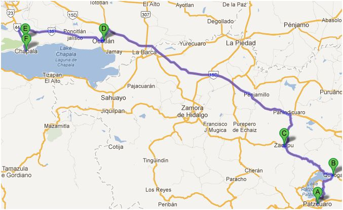 Driving to/from Patzcuaro Patz-c10