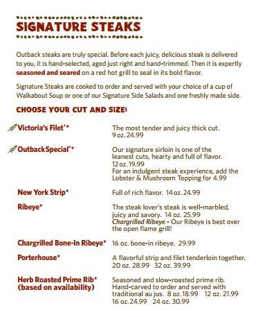 Outback Steakhouse Sig10