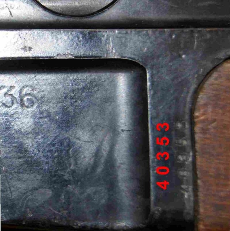 MAS 36 sans numéro de série 12090610