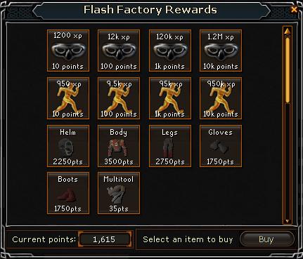 Flash Powder Factory Alien915