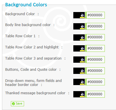 Color changes on main forumotion forums tutorial. D1010