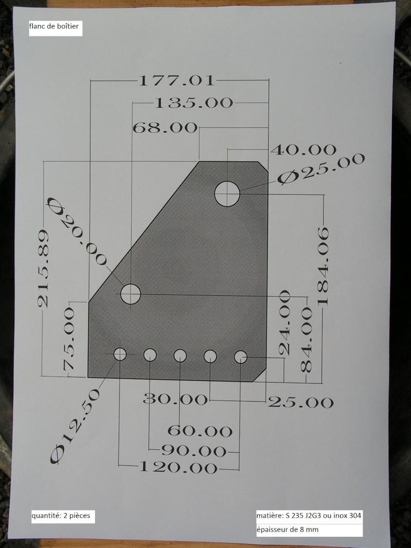 plans de boîtier de piquetage Pict1112