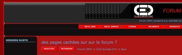 des pages cachées sur sur le forum ? Captur14