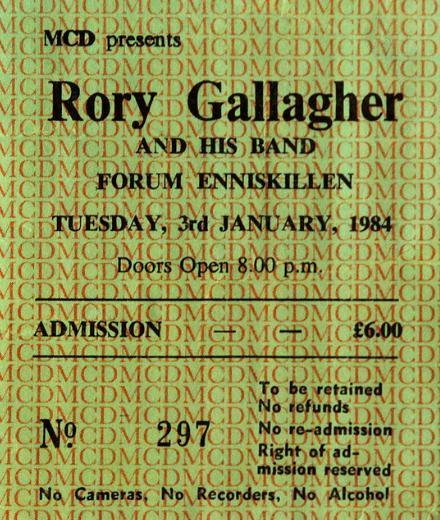 Photo de Dino McGartland - Omagh, Irlande du Nord, 6 janvier 1984 Rory_o12