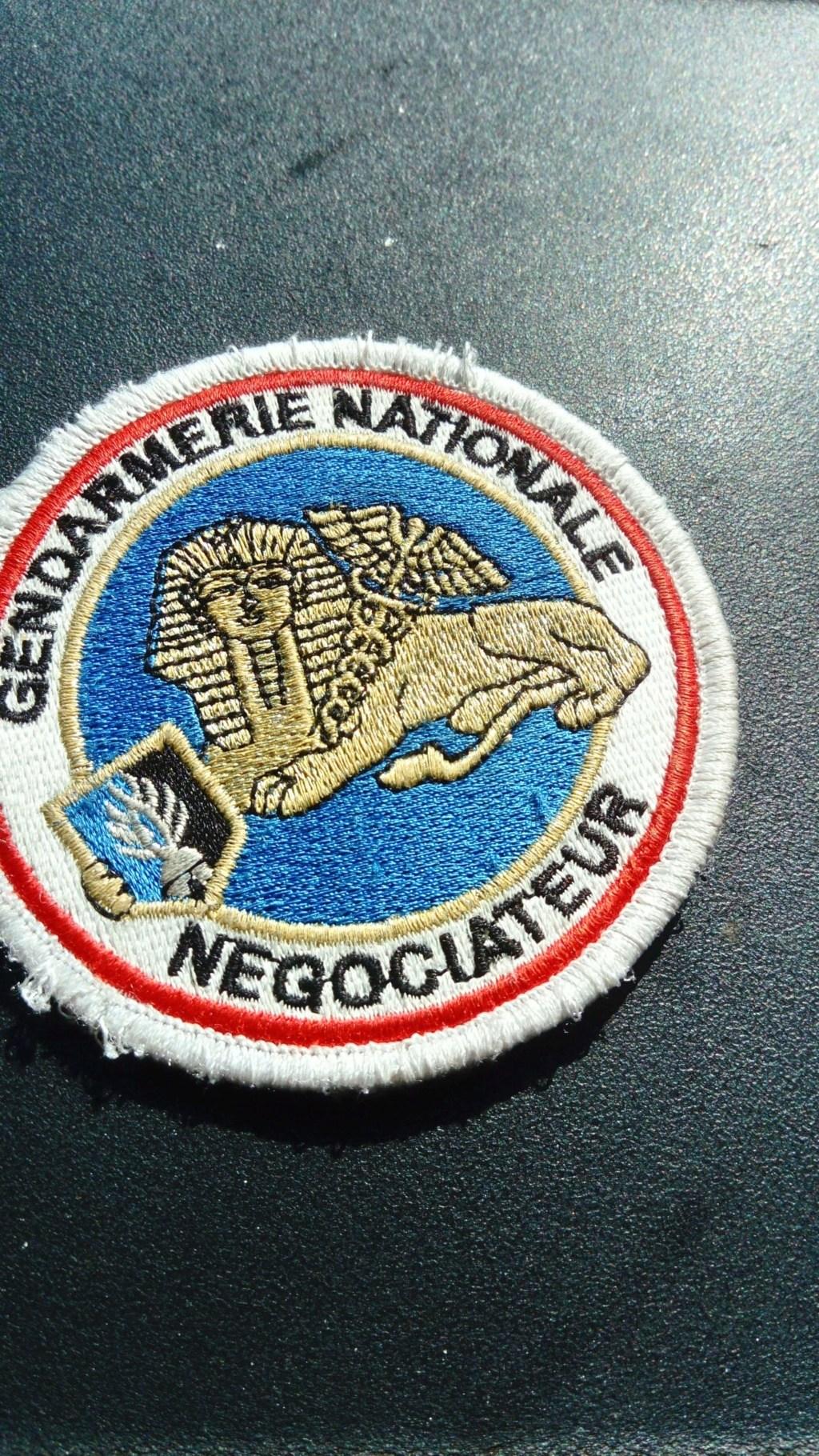 écusson gendarmerie prévôtale Djibouti Recei109