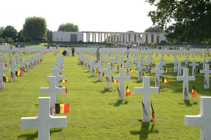 Memorial Day 25 mai 2019 at Henri-Chapelle American Cemetery 47002810