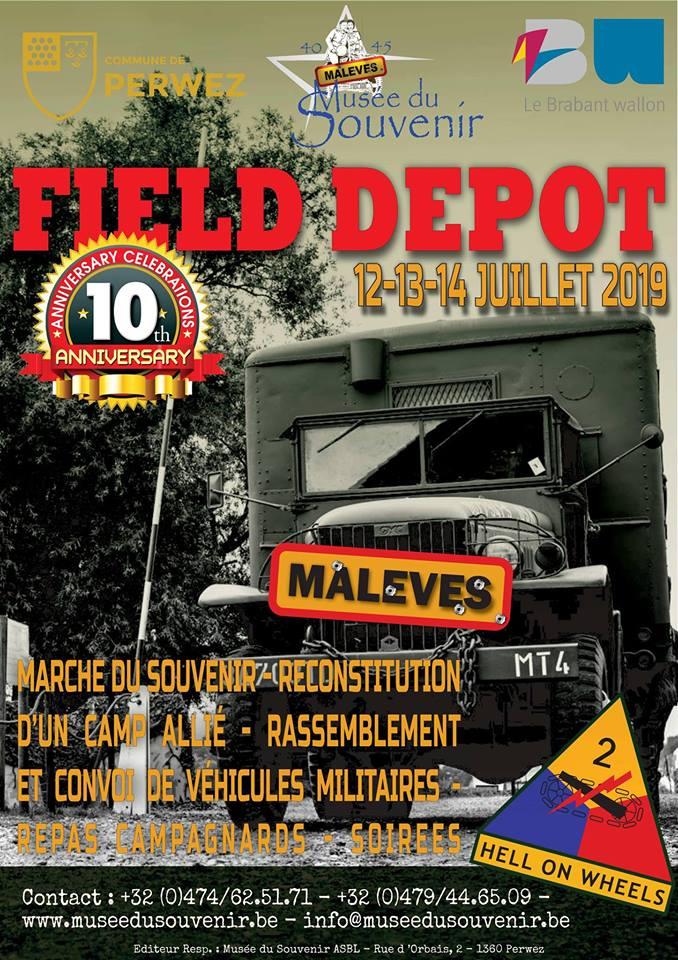 Field Depot 2019 - Dixième anniversaire du Musée du Souvenir 51885810