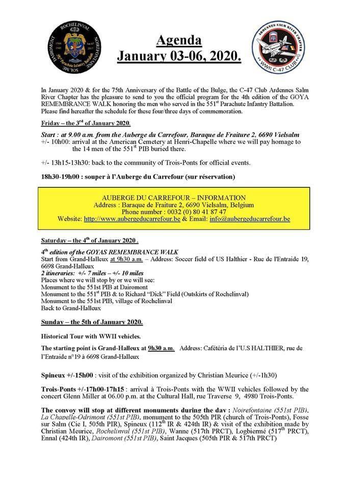 Marche du 551st PIB GOYA - 3/4/5/6 janvier 2020 71572410