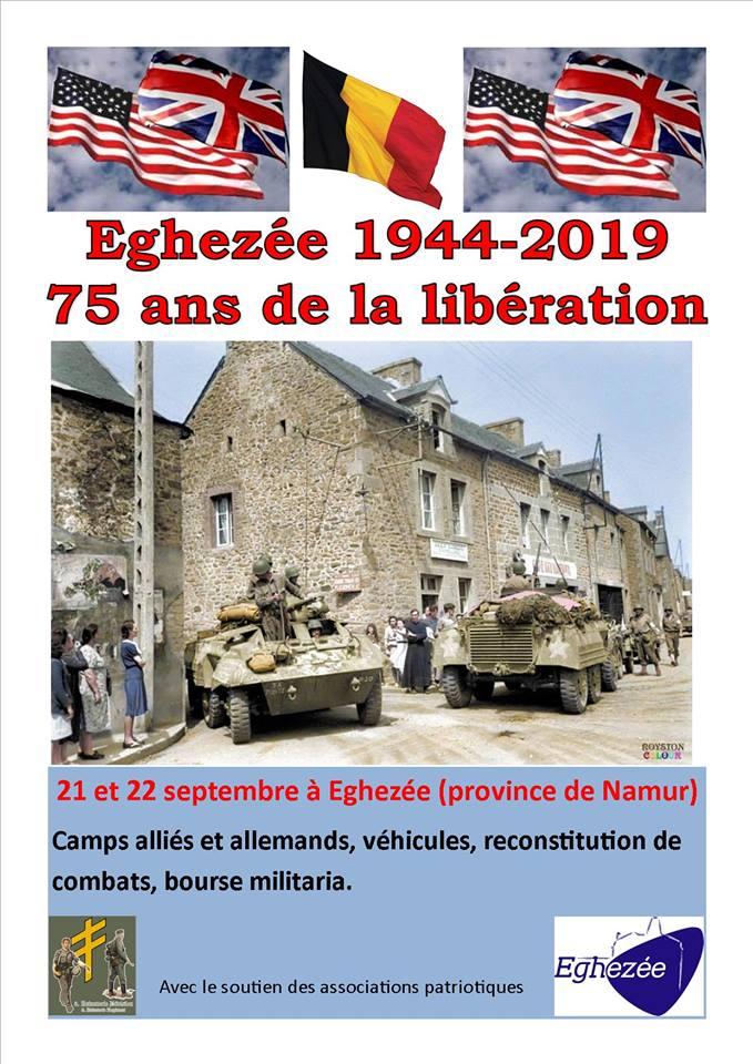 75 ans de la libération - Eghezée 1944-2019 Affich16