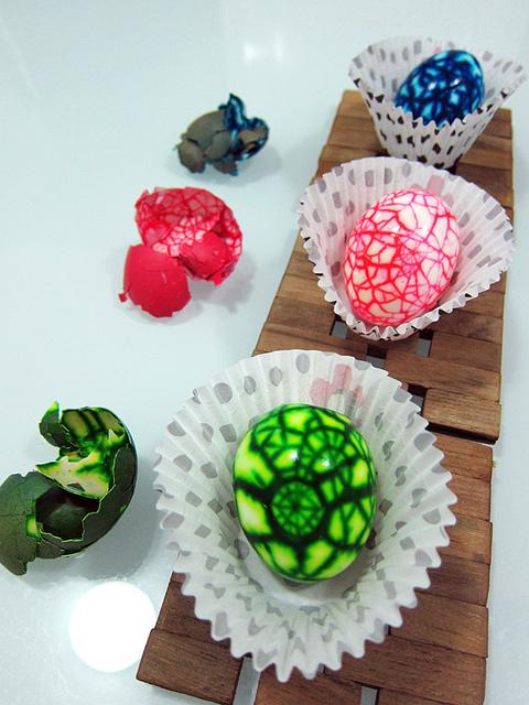Create unos Huevos Extraterrestres. Huevos10