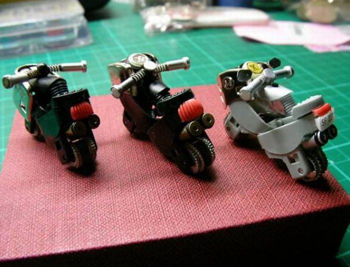 Hacer una moto con dos encendedores. ( Tambien Video paso a paso.) Moto1110