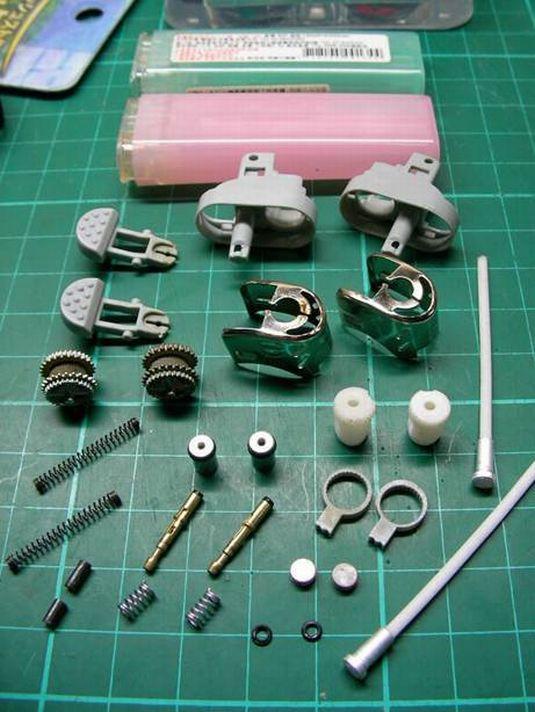 Hacer una moto con dos encendedores. ( Tambien Video paso a paso.) Moto210