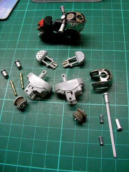Hacer una moto con dos encendedores. ( Tambien Video paso a paso.) Moto410