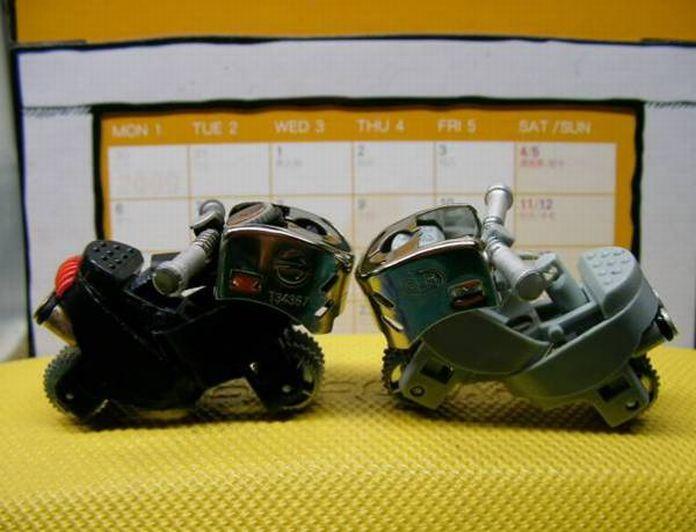 Hacer una moto con dos encendedores. ( Tambien Video paso a paso.) Moto610