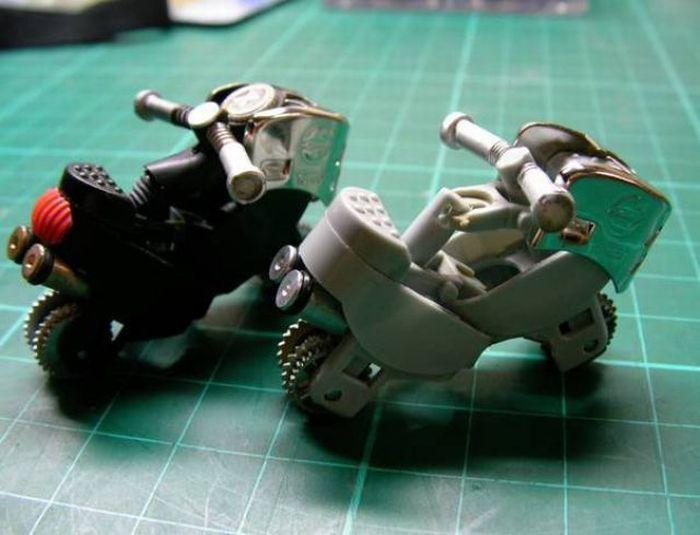 Hacer una moto con dos encendedores. ( Tambien Video paso a paso.) Moto710