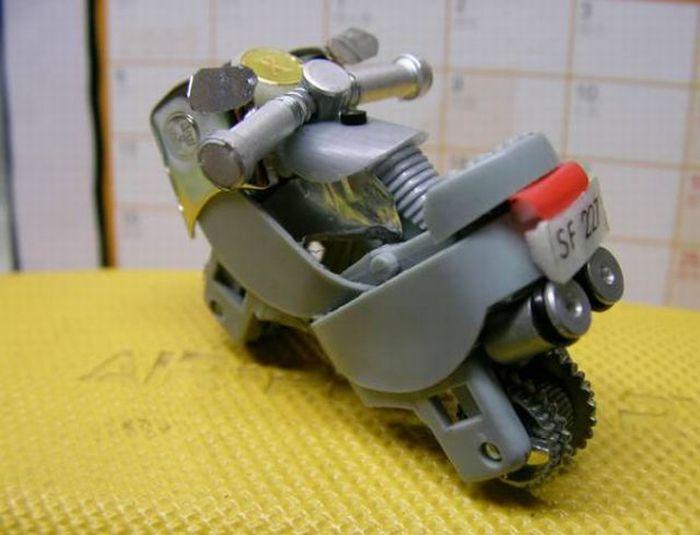 Hacer una moto con dos encendedores. ( Tambien Video paso a paso.) Moto910