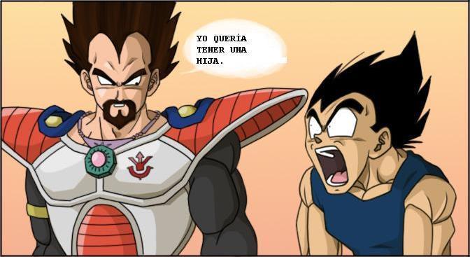 Las pesadillas de Vegeta personaje de Dragon Ball Z. Vegeta16