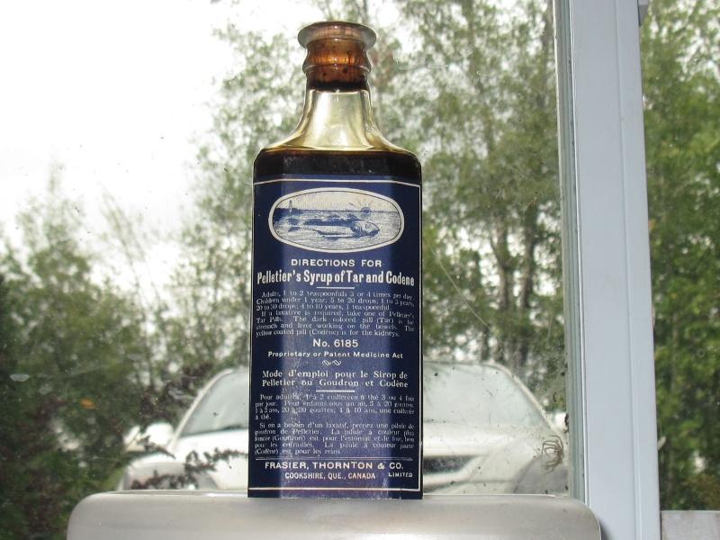 Le sirop de goudron et codène de Pelletier 00314