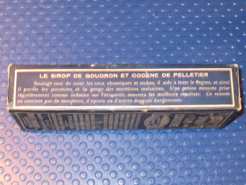Le sirop de goudron et codène de Pelletier 00713