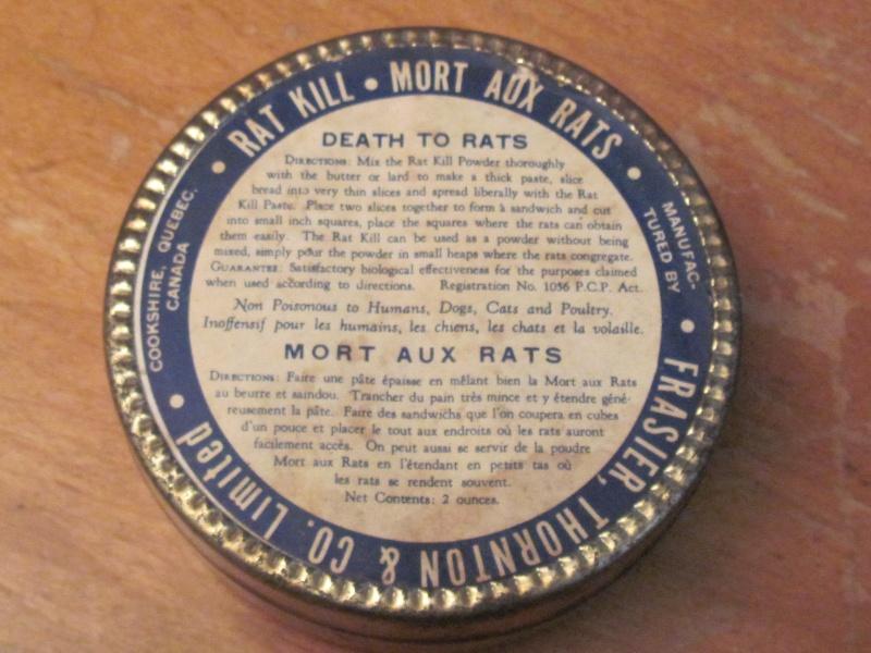 Mort aux Rats de Frasier, Thornton & Co Limited 01213