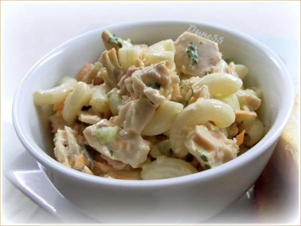 Salade de macaronis au thon 16122010