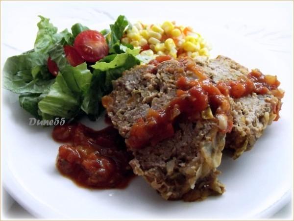 Pain de viande à la mexicaine (sauce paprika)  19259010