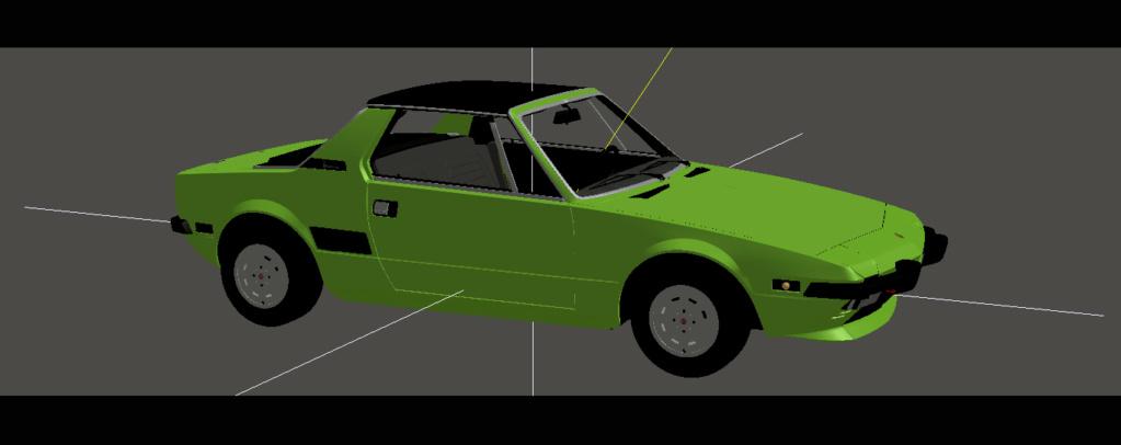 Bertone Fiat X1/9 - WIP Bfx19b10