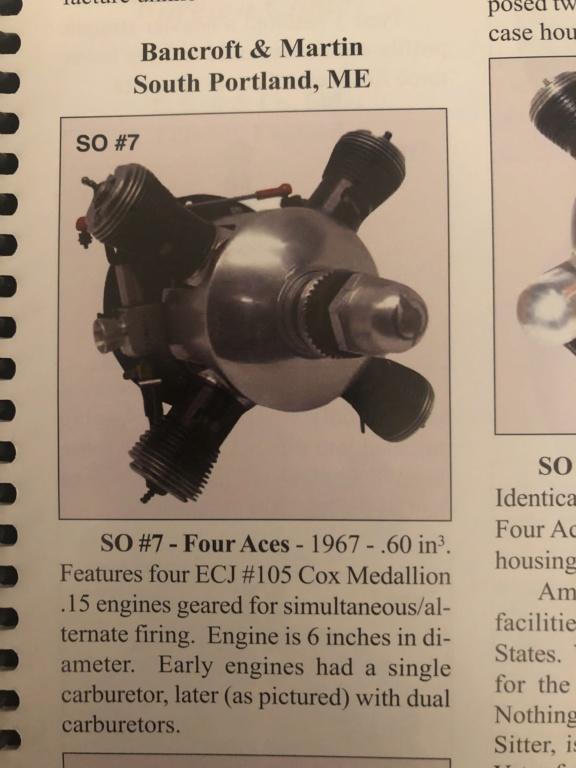 """""""Cox"""" multi-cylinder engine 0459b610"""