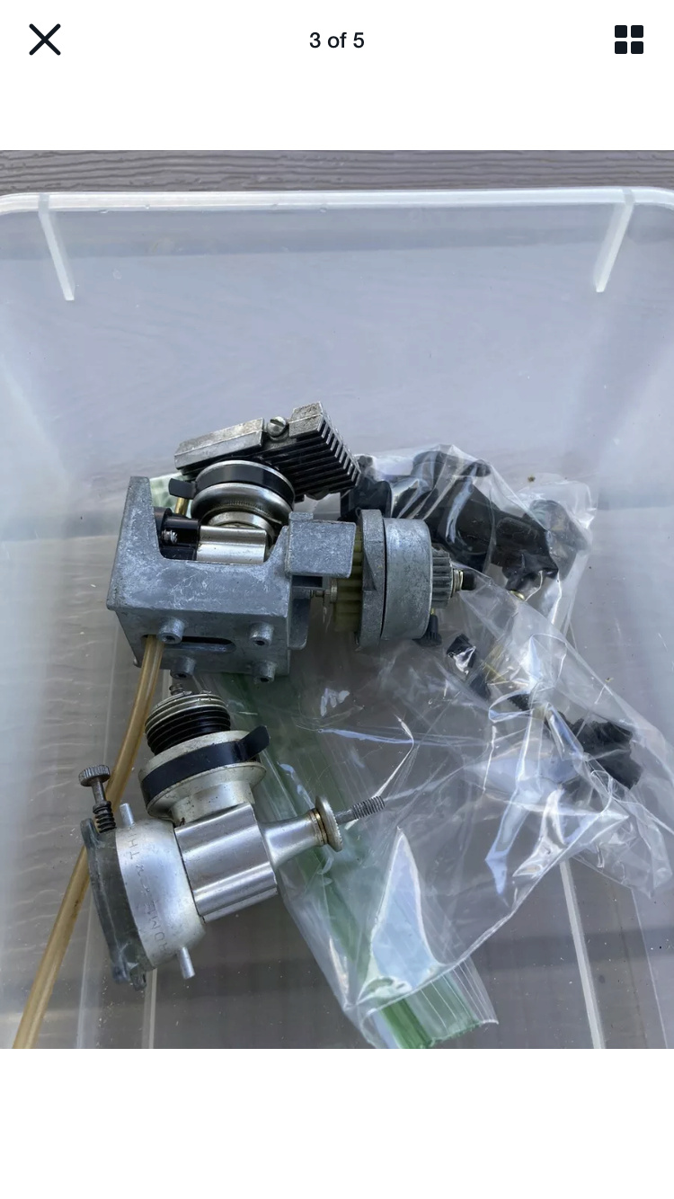 Bucket-O-Cox parts lot 122c3a10