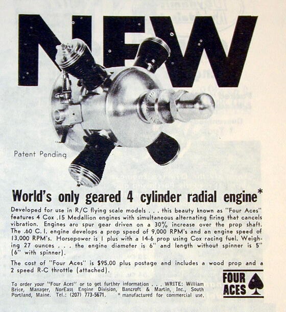 """Cox"" multi-cylinder engine A5ee3110"