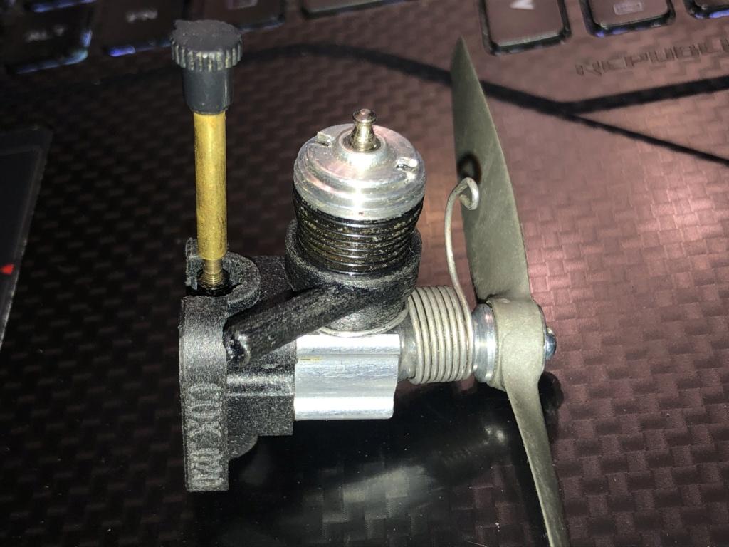 3D Printed .020 muffler Affef210