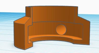 3D Printed .020 muffler Muffle10