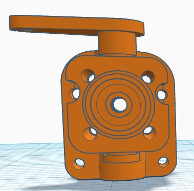 3D printed R/C Pee Wee backplate Rc_pee11