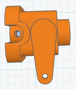 3D printed R/C Pee Wee backplate Rc_pee13