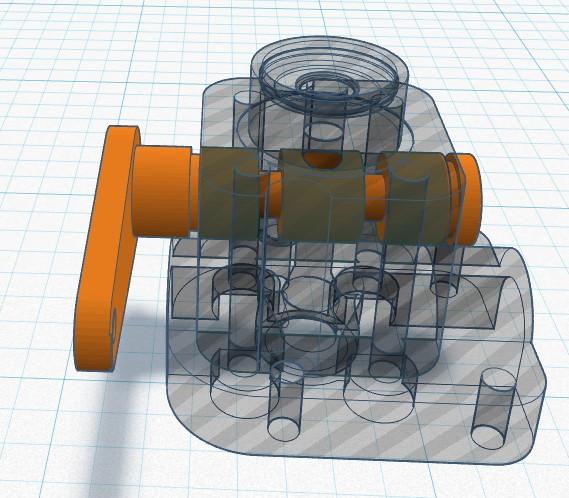 3D printed R/C Pee Wee backplate Rc_pee14