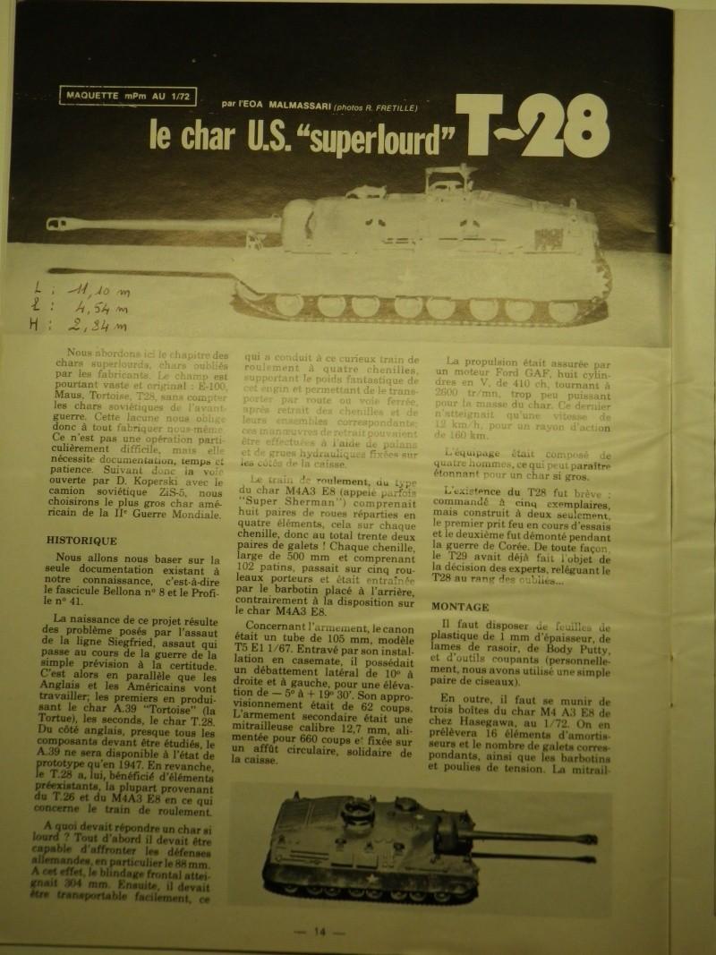char américain super lourd T28 au 1:72 Imgp0943