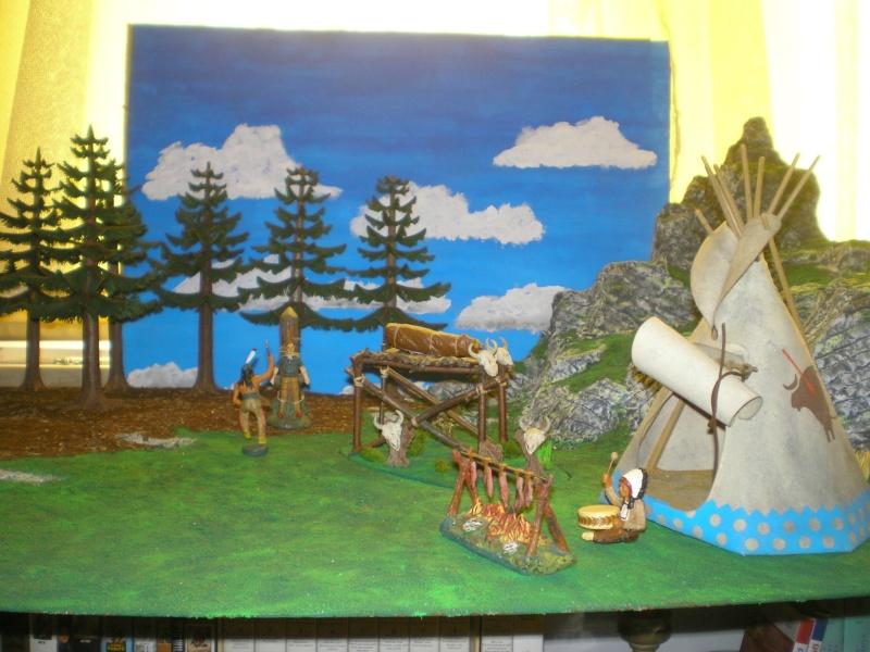 Gestaltung eines Dioramas mit den Tannen von Playmobil 002_2012