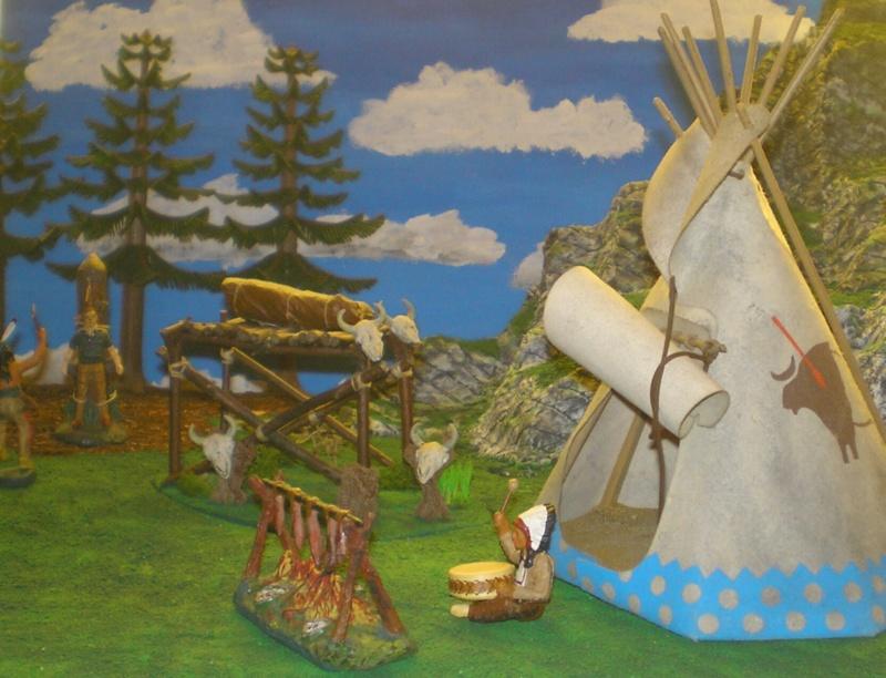 Gestaltung eines Dioramas mit den Tannen von Playmobil 002_2013