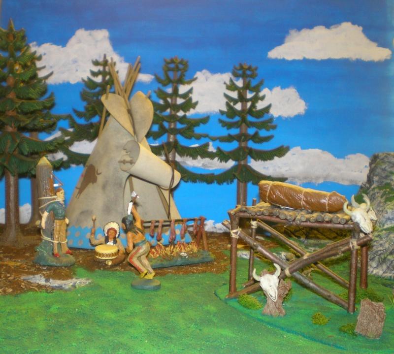 Gestaltung eines Dioramas mit den Tannen von Playmobil 002_2015