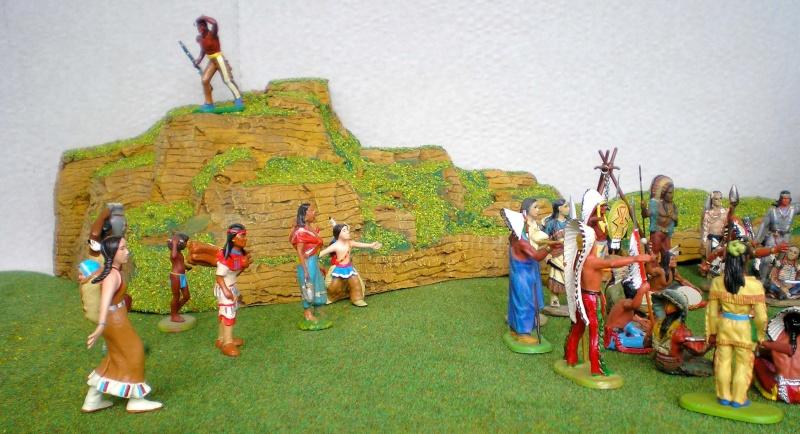 Western-Dioramen für 54 - 90 mm Figuren 002_in17