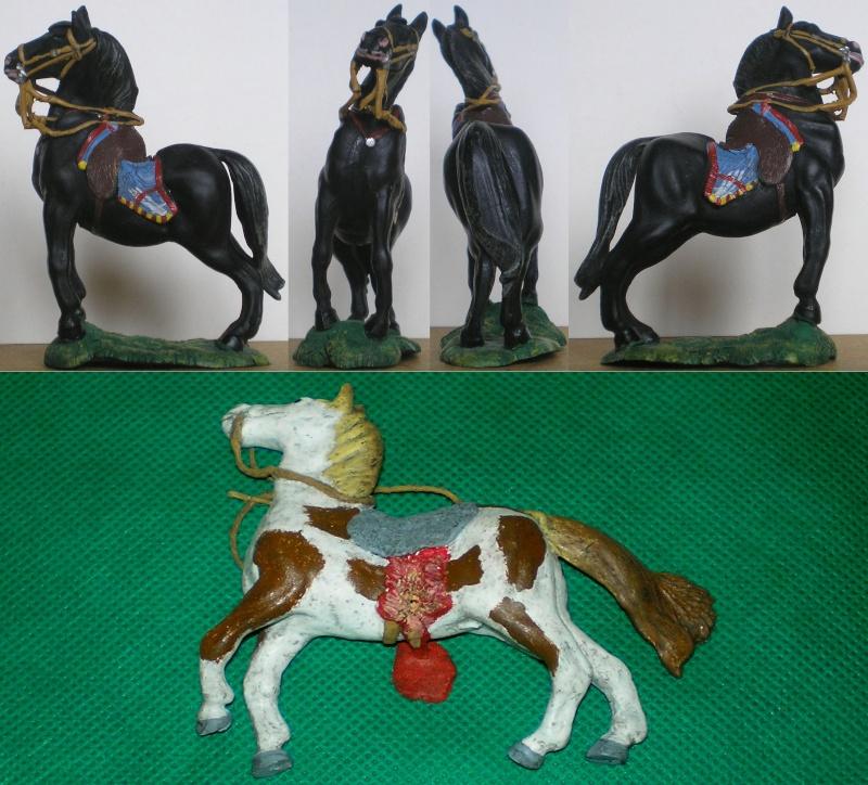 Meine Pferdesammlung - eigene Bemalungen und Umbauten in 54 bis 90 mm 083h6_10