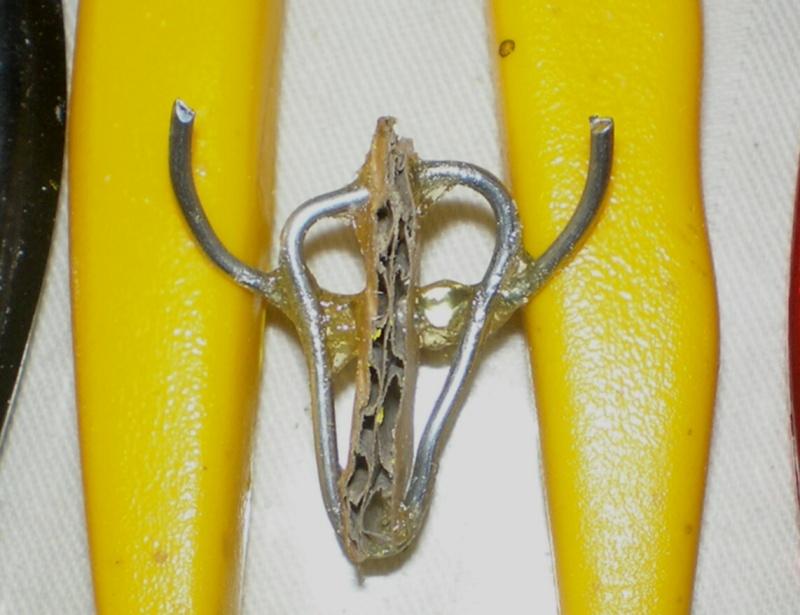 Bison-Kuh in eigener Modellierung für die Figurengröße 7 cm 137b1_10