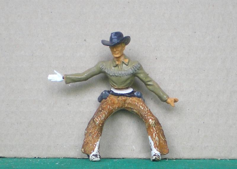Cowboy zu Pferd mit Lasso - Umbau in der Figurengröße 7 cm 139b3_10