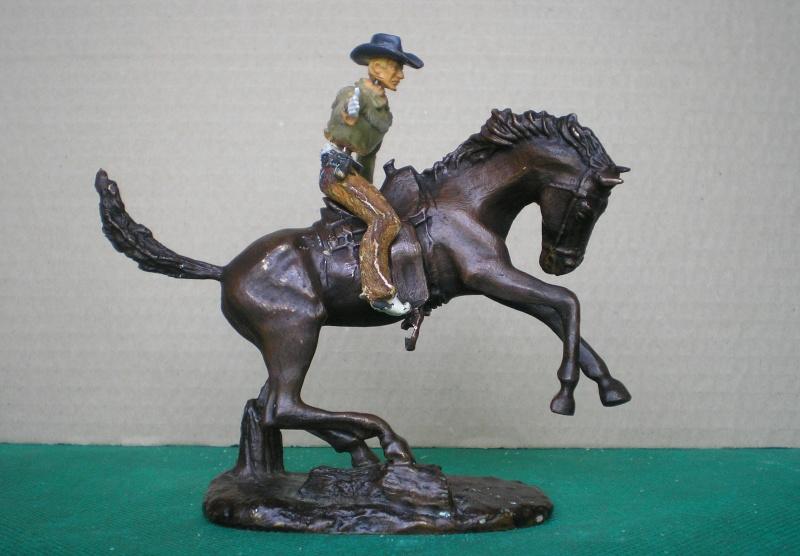Cowboy zu Pferd mit Lasso - Umbau in der Figurengröße 7 cm 139b4a10